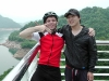 My host Hyngsup and me at Chungju dam