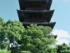 With a height of 57 metres (187 foot) this five storied pagoda is Japan's highest.