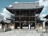Entrance to the Nishi Hongan-ji Temple