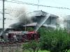 Burning house in Nagoya