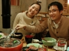My host Seiko and her boyfriend