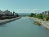 Kamogawa (鴨川) (eng. duck river) in Kyoto