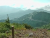 View to Manza from Shirane Volcano