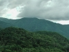 A rain storm is brewing on my way to Mt. Shirane